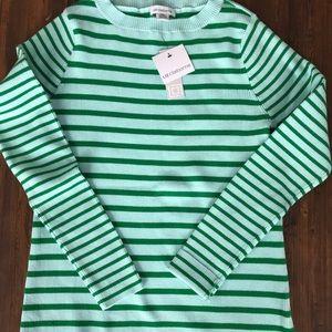 Liz Claiborne XL and Tall Ribbed Long Sleeve Shirt